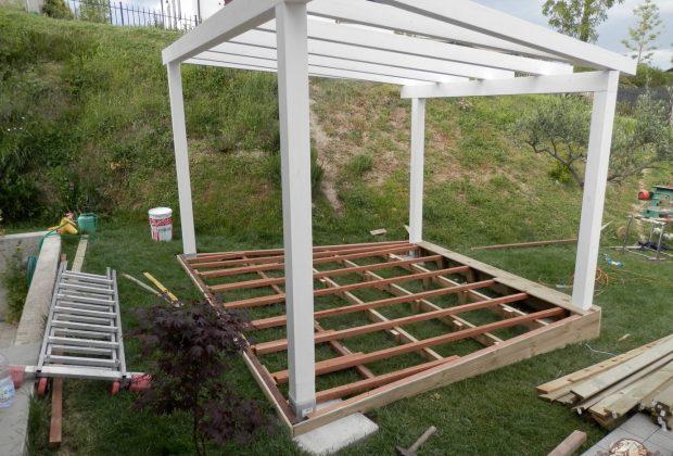 Gazebo mg legno arredo tetti in legno case in legno e for Gazebo in legno usato